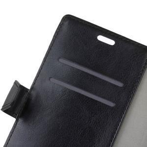 Crazy PU kožené pouzdro na mobil Acer Liquid Z6 - černé - 7