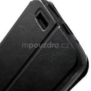 Klopové pouzdro na Huawei Ascend G7 - černé - 7
