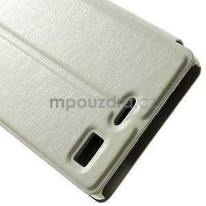 Peněženkové pouzdro Lenovo Vibe X2 - bílé - 7