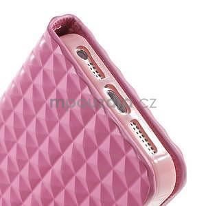 Cool Style pouzdro na iPhone 5 a iPhone 5s - růžové - 7