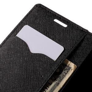 Diary PU kožené pouzdro na LG G4c - černé - 7