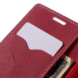 Diary PU kožené pouzdro na LG G4c - růžové - 7