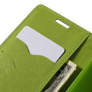 Diary PU kožené pouzdro na LG G4c - tmavěmodré - 7