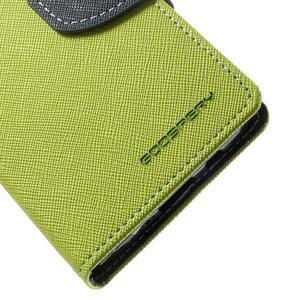 Diary PU kožené pouzdro na Samsung Galaxy A3 - zelené - 7