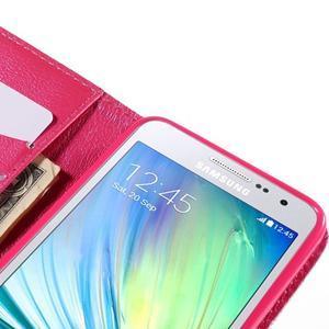 Pouzdro na mobil Samsung Galaxy A3 - červené srdíčko - 7