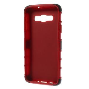 Outdoor odolný kryt na mobil Samsung Galaxy A3 - červený - 7