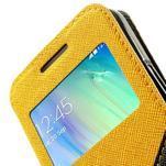 Roar peněženkové pouzdro s okýnkem na Samsung Galaxy A3 - žluté - 7/7