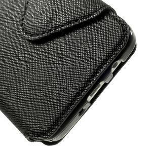 Roar peněženkové pouzdro s okýnkem na Samsung Galaxy A3 - černé - 7