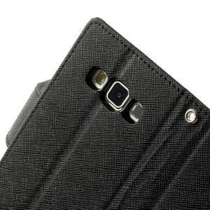 Diary PU kožené pouzdro na Samsung Galaxy A3 - černé - 7