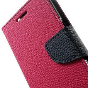Fancy PU kožené pouzdro na Samsung Galaxy Core Prime - rose - 7
