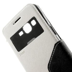 Safety pouzdro s okýnkem pro Samsung Galaxy Grand Prime - bílé - 7