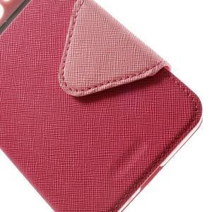 Safety pouzdro s okýnkem pro Samsung Galaxy Grand Prime - rose - 7