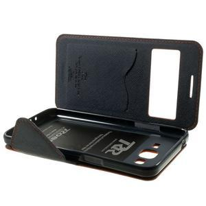 Safety pouzdro s okýnkem pro Samsung Galaxy Grand Prime - oranžové - 7