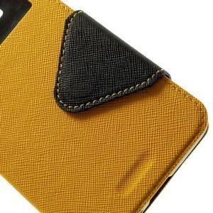 Safety pouzdro s okýnkem pro Samsung Galaxy Grand Prime - žluté - 7