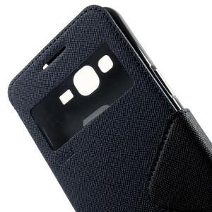 Safety pouzdro s okýnkem pro Samsung Galaxy Grand Prime - tmavěmodré - 7