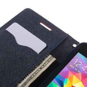 Diary PU kožené pouzdro na mobil Samsung Galaxy Grand Prime - červené - 7