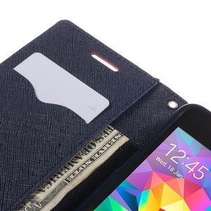 Diary PU kožené pouzdro na mobil Samsung Galaxy Grand Prime - rose - 7