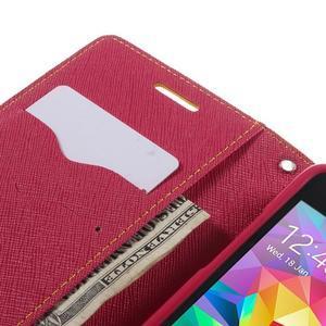 Diary PU kožené pouzdro na mobil Samsung Galaxy Grand Prime - žluté - 7