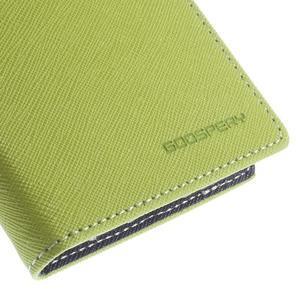 Diary PU kožené pouzdro na mobil Samsung Galaxy Grand Prime - zelené - 7