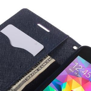 Diary PU kožené pouzdro na mobil Samsung Galaxy Grand Prime - fialové - 7