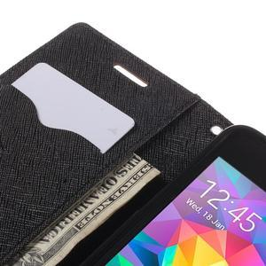Diary PU kožené pouzdro na mobil Samsung Galaxy Grand Prime - hnědé - 7