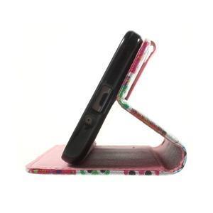 Wallet PU kožené pouzdro na mobil Samsung Galaxy Grand Prime - sovičky - 7