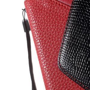 Writes elegantní pouzdro na Samsung Galaxy Grand Prime - červené - 7