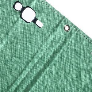 Diary stylové peněženkové pouzdro na Samsung Galaxy J5 - azurové - 7