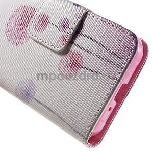 Vzorové peněženkové pouzdro na Samsung Galaxy Xcover 3 - pampeliška I - 7