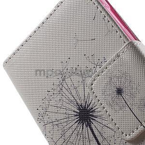 Vzorové peněženkové pouzdro na Samsung Galaxy Xcover 3 - odkvetlá pampeliška - 7