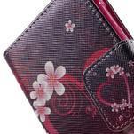 Vzorové peněženkové pouzdro na Samsung Galaxy Xcover 3 - srdce - 7/7