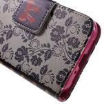 Vzorové peněženkové pouzdro na Samsung Galaxy Xcover 3 - mašlička - 7/7
