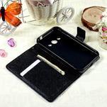 Stylové peněženkové pouzdro pro Samsung Galaxy Xcover 3 - modrý motýl - 7/7