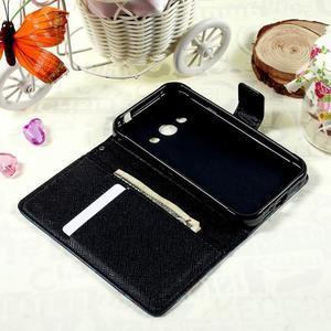 Stylové peněženkové pouzdro pro Samsung Galaxy Xcover 3 - motýlci - 7