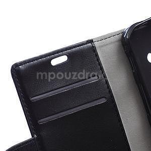 Černé koženkové pouzdro Samsung Galaxy Xcover 3 - 7