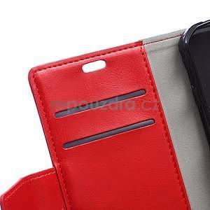 Červené koženkové pouzdro Samsung Galaxy Xcover 3 - 7