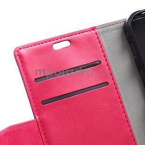 Rose koženkové pouzdro Samsung Galaxy Xcover 3 - 7