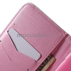 Vzorové peněženkové pouzdro na Samsung Galaxy Xcover 3 - květiny - 7