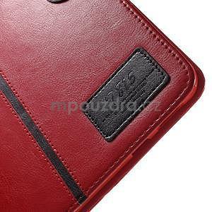 Flatense stylové pouzdro pro Samsung Galaxy Tab S2 9.7 - červené - 7
