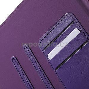 Flatense stylové pouzdro pro Samsung Galaxy Tab S2 9.7 - fialové - 7