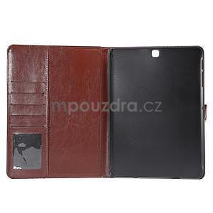 Jeans pouzdro na tablet Samsung Galaxy Tab S2 9.7 - černomodré - 7