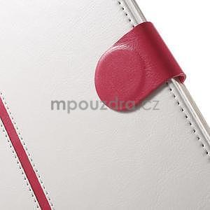 Flatense stylové pouzdro pro Samsung Galaxy Tab S2 9.7 - bílé - 7