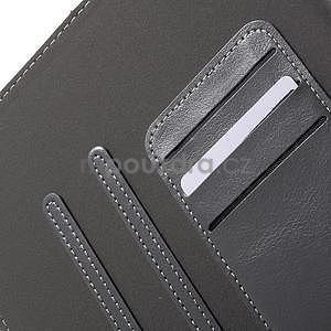 Flatense stylové pouzdro pro Samsung Galaxy Tab S2 9.7 - šedé - 7