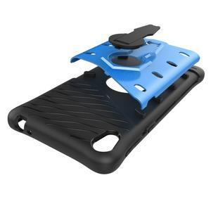 Armory odolný obal se stojánkem na Sony Xperia E5 - modrý - 7