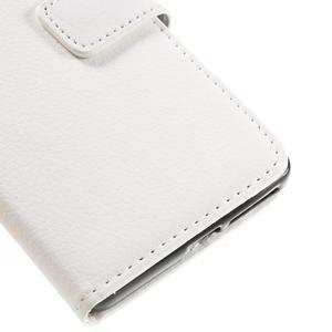 Leathy PU kožené pouzdro na Sony Xperia E5 - bílé - 7