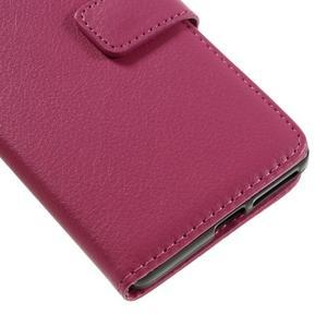 Leathy PU kožené pouzdro na Sony Xperia E5 - rose - 7