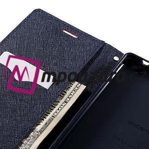 Diary PU kožené pouzdro na mobil Sony Xperia XA Ultra - červené - 7