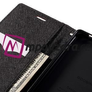 Diary PU kožené pouzdro na mobil Sony Xperia XA Ultra - hnědé - 7