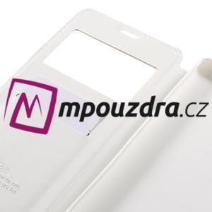 Richi PU kožené pouzdro s okýnkem na Sony Xperia XA Ultra - bílé - 7