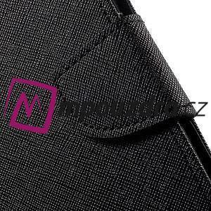 Diary PU kožené pouzdro na mobil Asus Zenfone 3 Deluxe - černé - 7